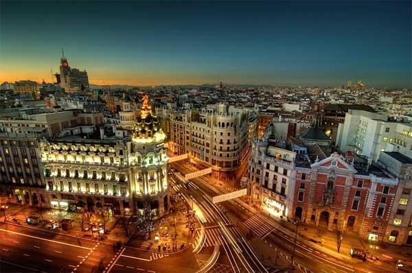 12 испанских виноградин или Новый Год в Мадриде