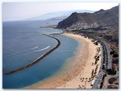 Тенерифе. Пляж де лас Тереситас