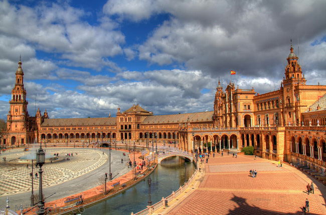 фото севилья испания достопримечательности