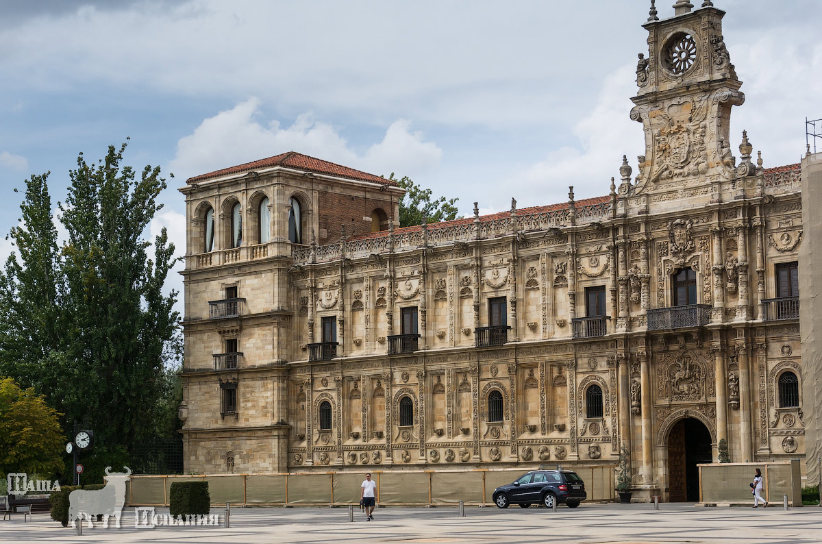 город леон испания фото